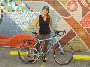 Simone Wojtaszek will participate in the California Dream Ride to support the California Bicycle Coalition's Bikeways to Everywhere inititiative