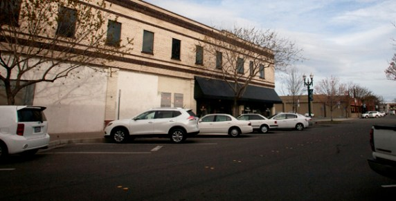 Turlock's downtown parking study found low turnover on Main Street, Broadway Avenue, (pictured above) Olive Avenue, and Center Street, where officially parking is limited to two hours. Photo: Minerva Perez