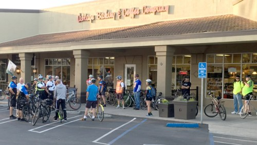 Pit Stop in Modesto. Photo: Michael Sacuskie