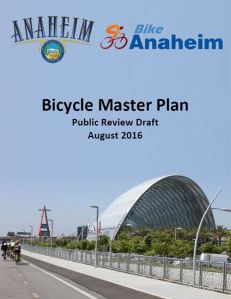 The Anaheim draft Bike Master Plan can be found on the City's website at anaheim.net/bike.