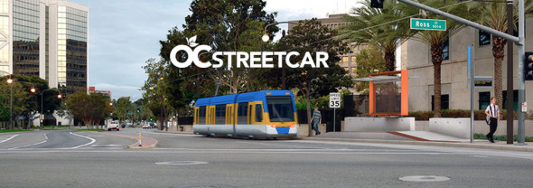 Orange County's first expected streetcar project was awarded $28 million in Cap-and-Trade funding. Image: Octa.net