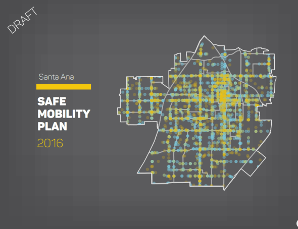 The Safe Mobility Santa Ana plan was released earlier this month. Credit: City of Santa Ana
