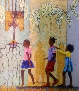 3 Little Sisiers by Mulenga J Mulenga