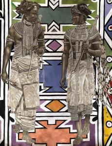 Bazalwana (brothers) by Kgalalelo Gaitate