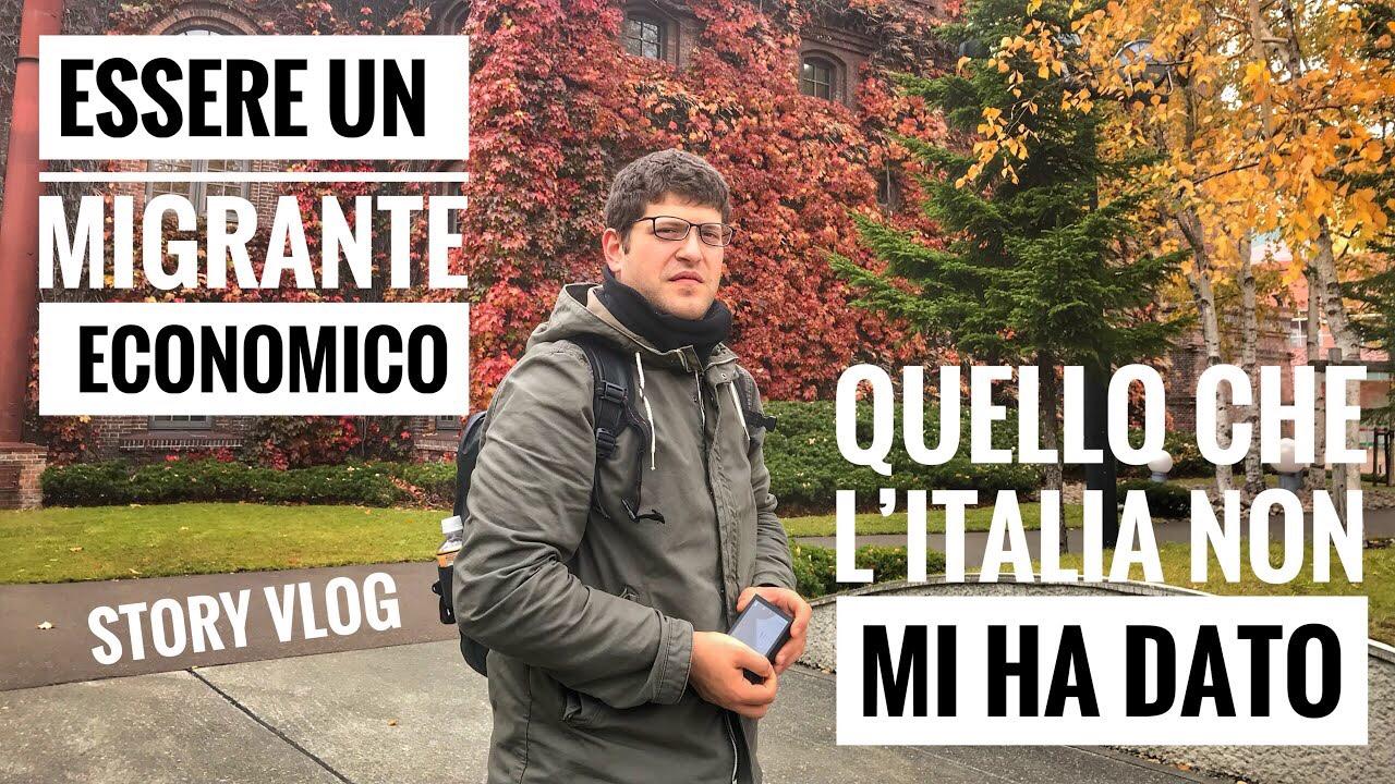 IO MIGRANTE ECONOMICO QUELLO CHE L'ITALIA NON MI HA DATO