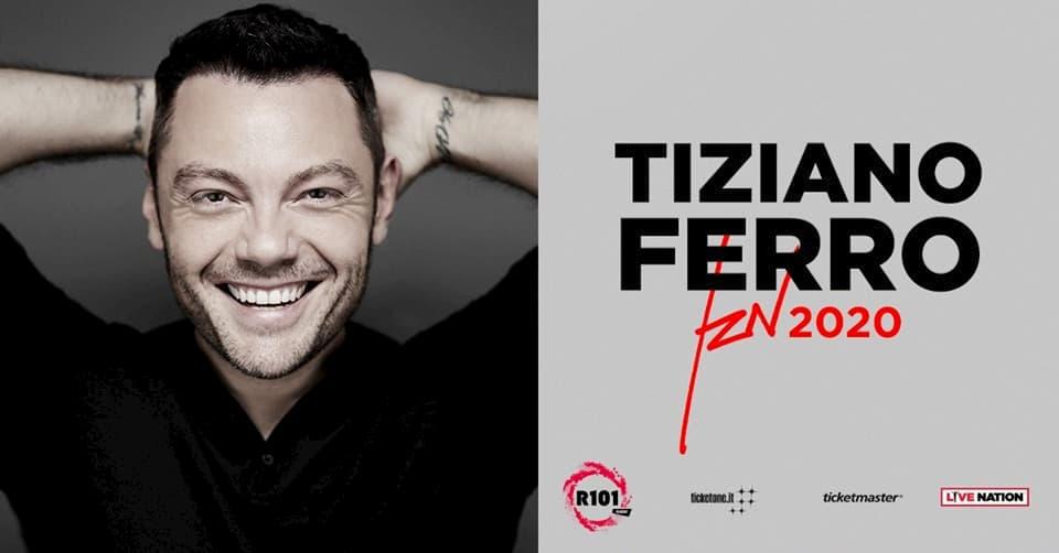 Tiziano Ferro live a Messina TZN 2020