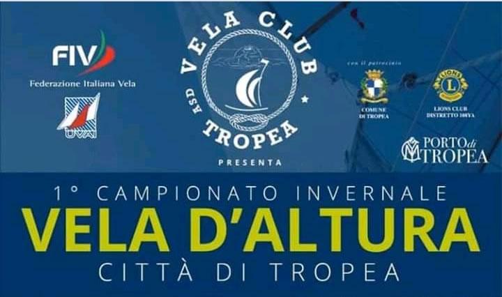1 Campionato invernale Vela d'altura città di Tropea 2019 2020 locandina