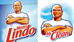 mrclean shopping in italy