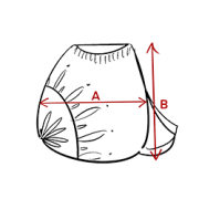 Guide des tailles Sac