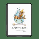 Esprit Libre – Goutte d'eau indien - Toile