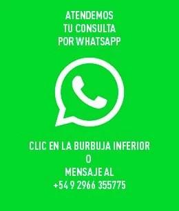Consultá por WhatsApp
