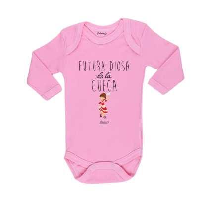 Ropa Bebe Body Calambur 100% algodón Moda Infantil Futura Diosa De La Cueca