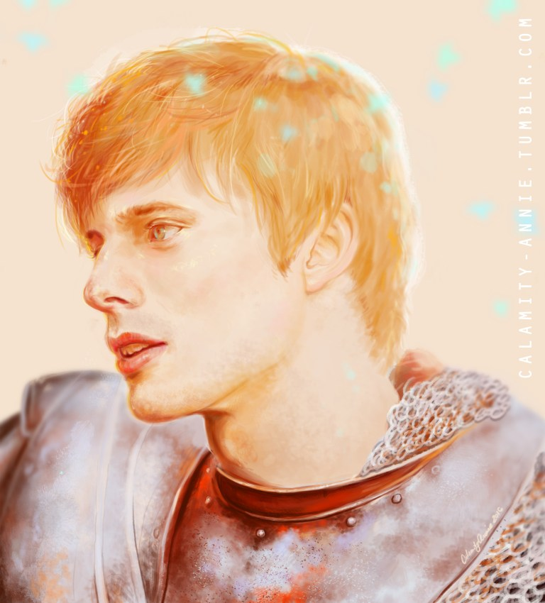Arthur Pendragon (watermark from personal tumblr) || 2016 || painted in photoshop CC