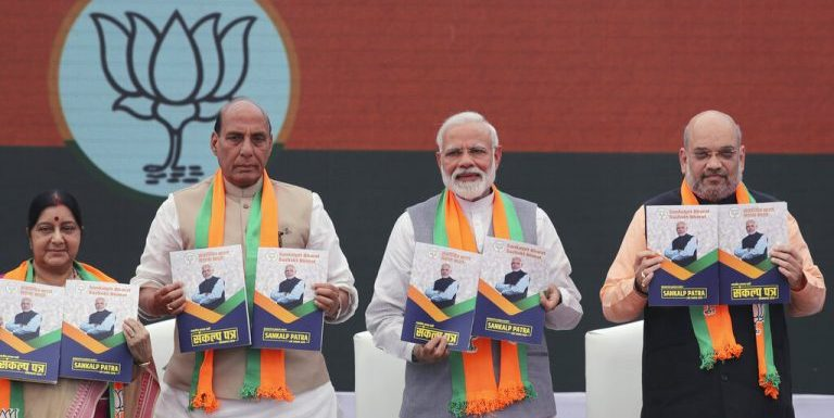 CNBC TV18 Column: The BJP Manifesto