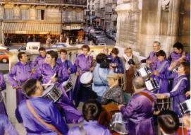 Tambores de Calanda en París 1982