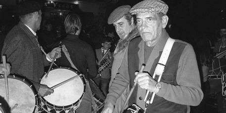 Luis Buñuel y Fernando Rey en Calanda