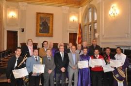 Diploma Tambores participantes