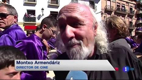 Montxo Armendáriz en Calanda 2014