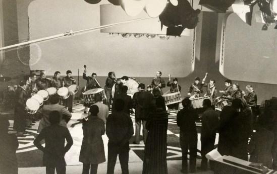 Los Tambores en RTVE Programa J.M. Íñigo 1984