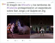"Twitter de ""La Comarca"""