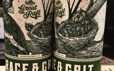 @greatraftbeer Grace and Grit Double IPA is now available at our Perkins Rd location! #freshies…