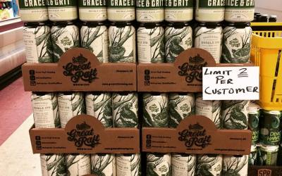 @greatraftbeer Grace and Grit Double IPA is now available at our Perkins Rd location! #drinklocal…
