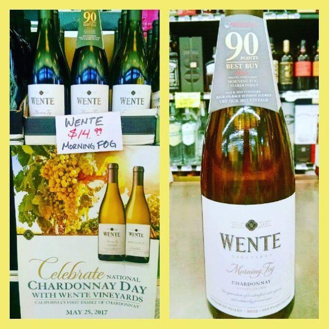 Happy Chardonnay Day from @calandrosmkt Perkins! #wine #chardonnayday #WenteWine #chardonnay #wentencd2017 @wente @arader1979