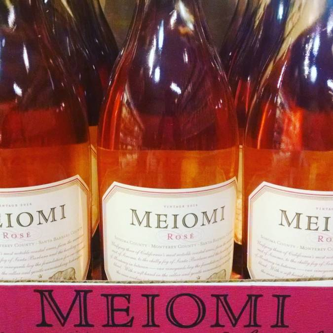Just in time for the weekend @meiomiwines Rose' available at our Perkins Rd location #roseallday…