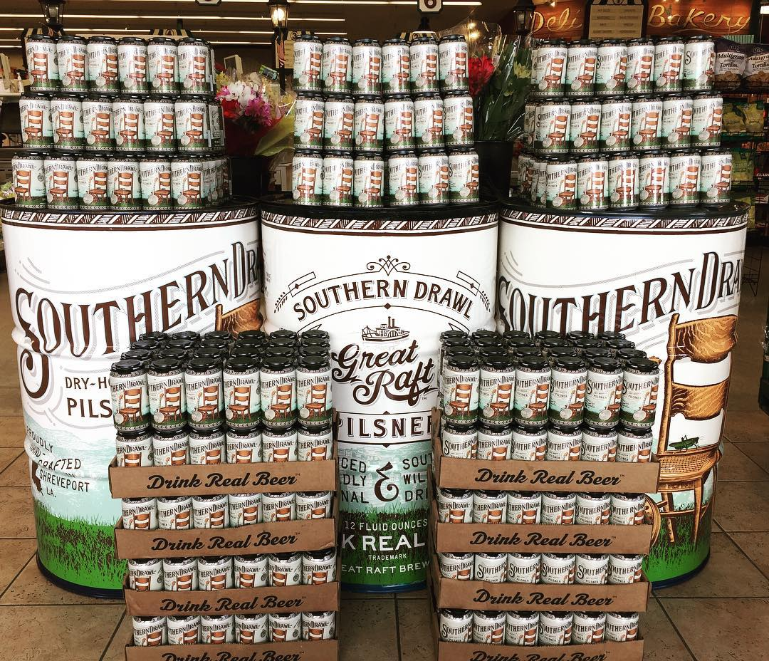 @greatraftbeer Southern Drawl is now a Dry- Hopped Pilsner! This is the perfect summer crusher…