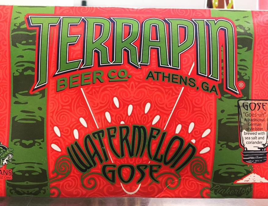 @terrapinbeerco Watermelon Gose is now in stock at our Perkins Rd location! Tart, Salty, Crushable,…