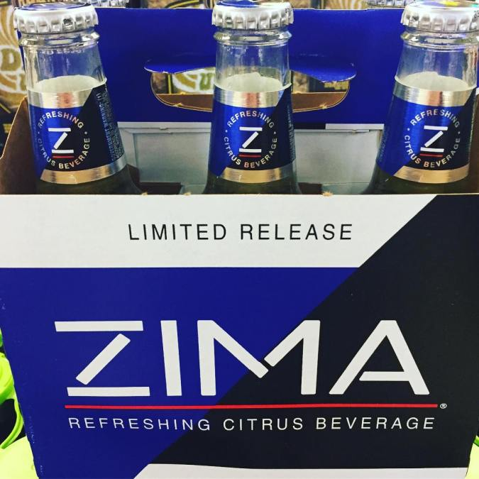 ZIMA is back and is now available at our Perkins Rd location! #cases #beer #limitededition…