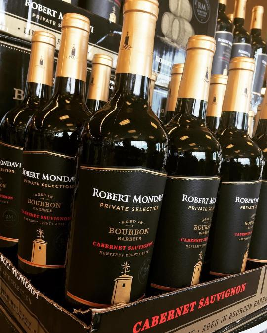 @robertmondavi Bourbon Barrel Aged Cabernet Sauvignon is back in stock at our Perkins Rd location!…