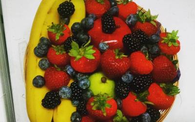 Berry Basket by Calandro's on Perkins. We can make gift baskets from anything we sell,…