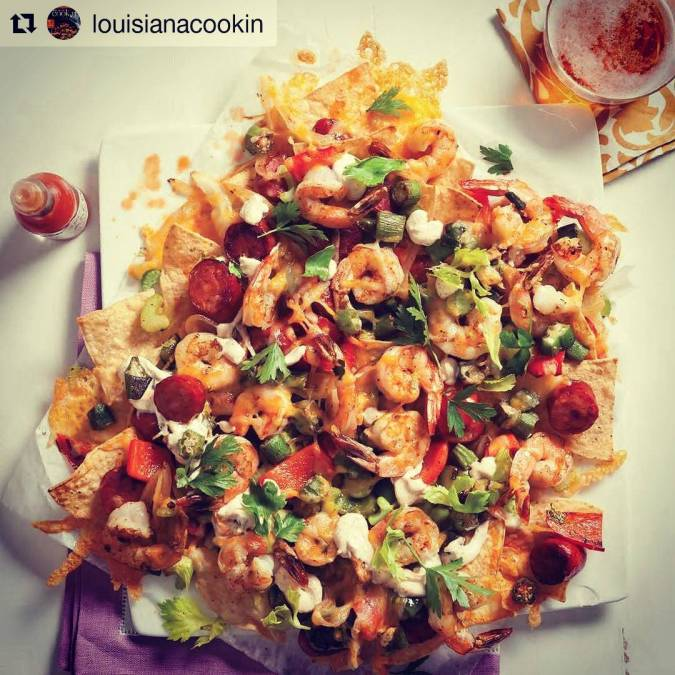 This #cajun #texmex fusion dish looks so incredibly good we just had to repost! Check…
