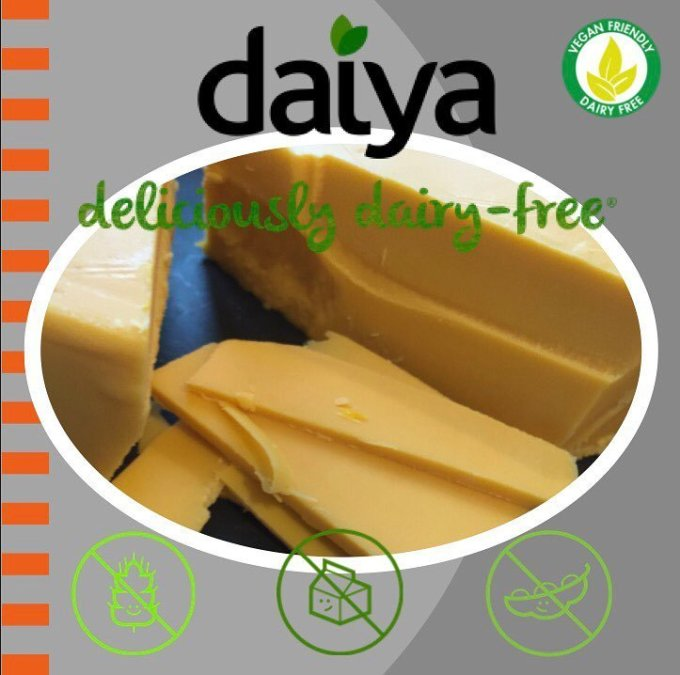 NOW Available! @daiyafoods #dairyfree #soyfree #glutenfree Cheese 🧀. Find it at our Perkins location. #calandrosmkt…
