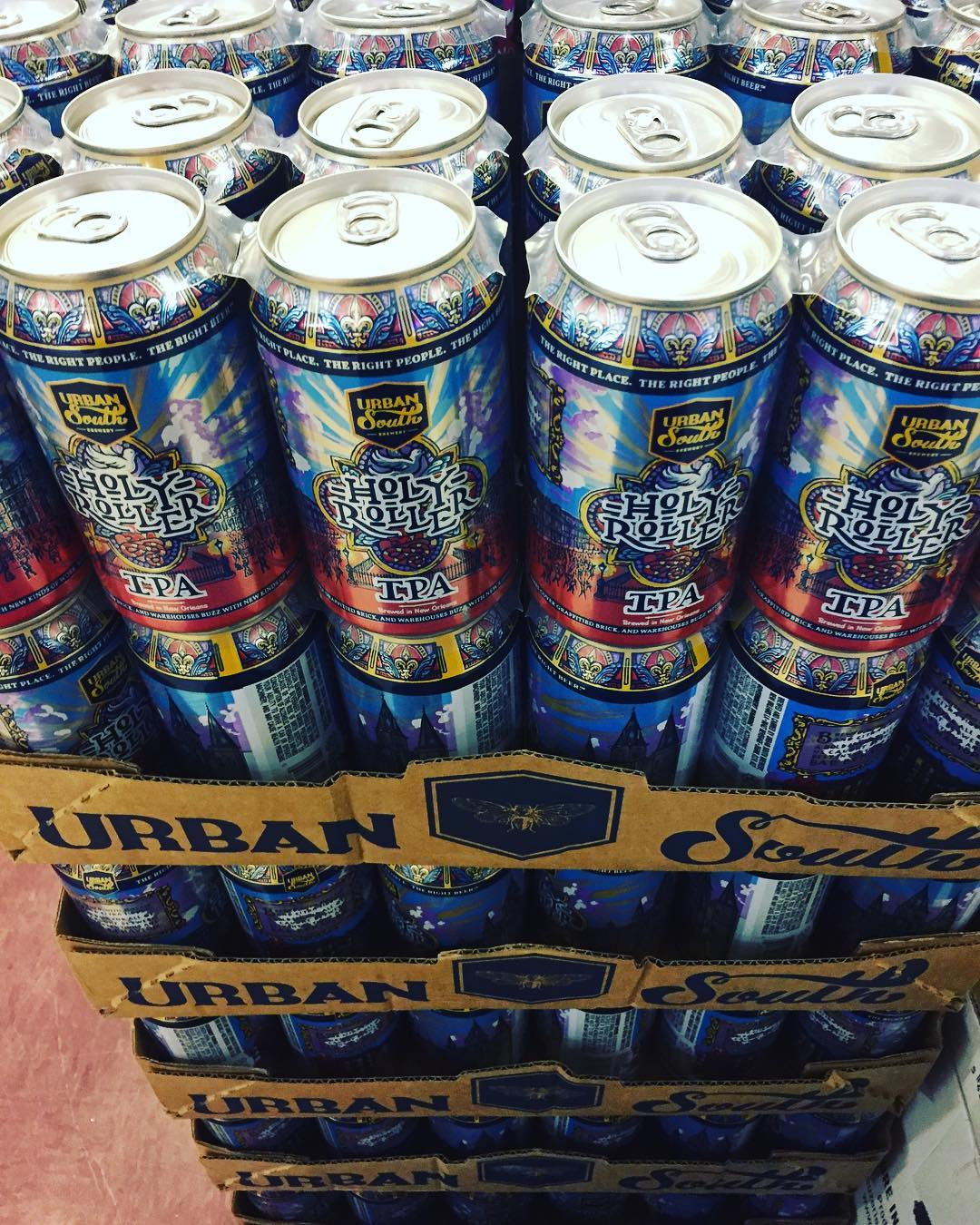 """New Recipe"" @urbansouthbeer Holy Roller Cannes 10/30 is now in stock at our Perkins Rd…"