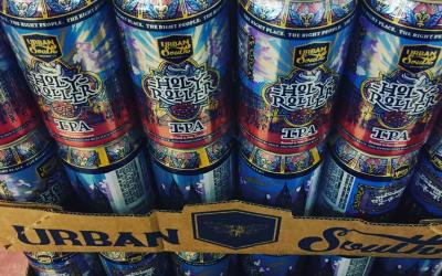 """""""New Recipe"""" @urbansouthbeer Holy Roller Cannes 10/30 is now in stock at our Perkins Rd…"""