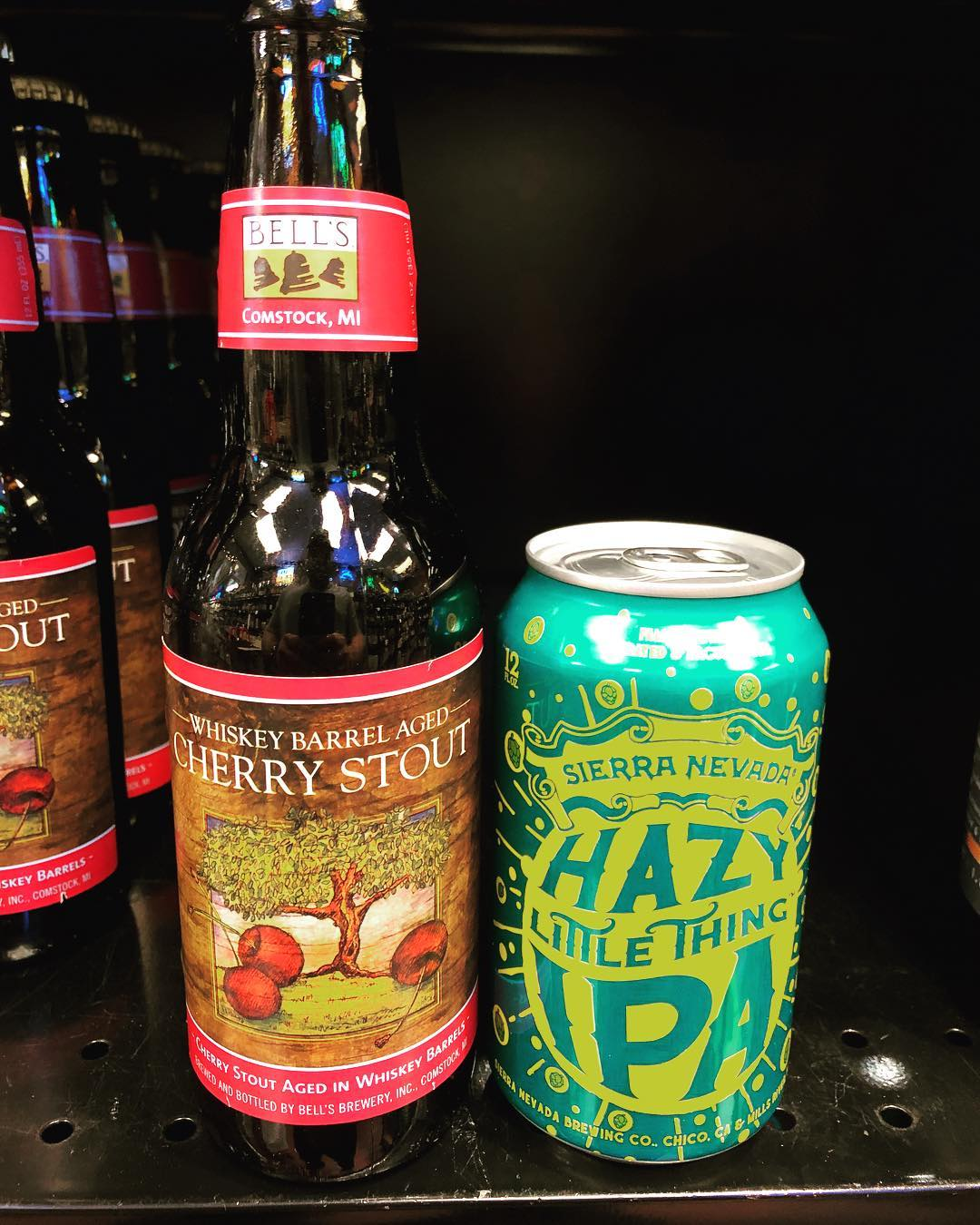 More new brews available at our Perkins add location! @sierranevada @bellsbrewery #newbrewthursday #barrelaged #beer