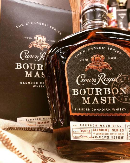 @crownroyal Bourbon Mash is now available at our Perkins Rd location! #liquor #strongwater #uhohhh #canada????????…