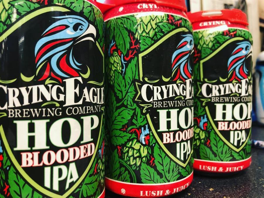 @cryingeaglebrew Hop Blooded IPA is now available at our Perkins Rd location! Stay tuned throughout…
