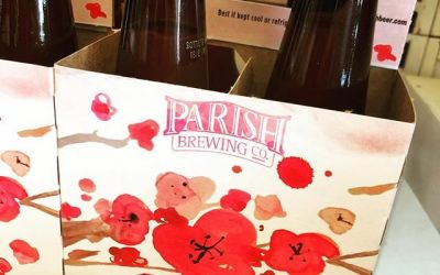 @parishbrewingco Bloom is now available at our Perkins Rd location! Limit 2- 4 packs per…