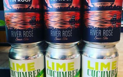 @tinroofbeer River Rose and @urbansouthbeer Lime Cucumber Gose are both now available at our Perkins…