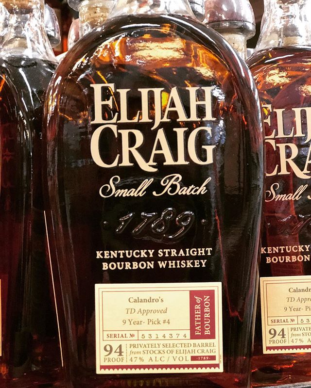 "Our very anticipated 4th of @elijahcraig Small Batch, ""TD Approved"", is now available at our…"