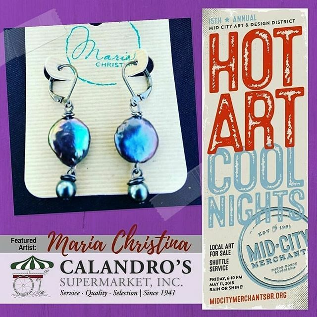 Mark your calendars folks - Fri., May 11th, 6-10p! @mariachristinajewelry and a whole host of…