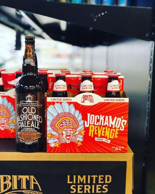 @abitabeer Jockamo's Revenge Sour IPA and Barrel Aged Old Fashioned Pale Ale are now in…