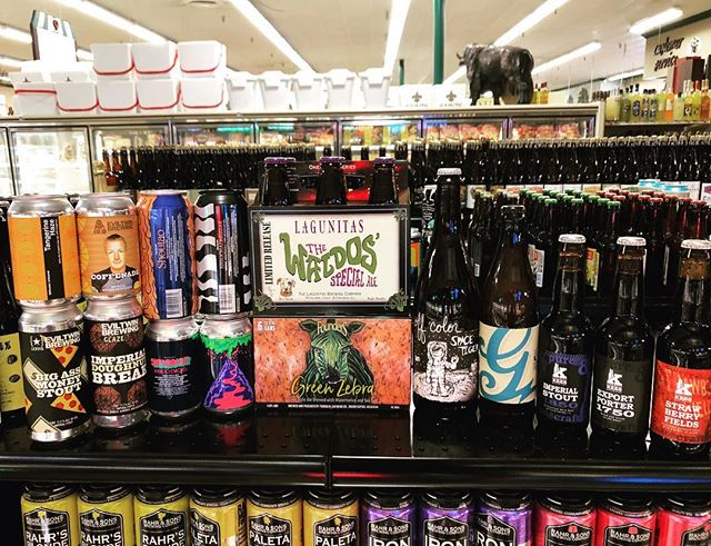 New brews in stock today to go along with our new shelves at our Perkins…
