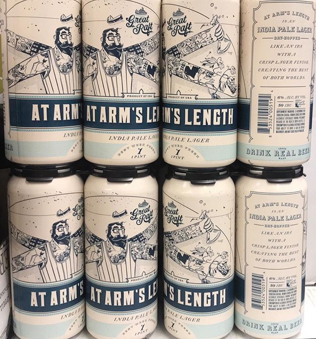 At Arm's Length IPL from @greatraftbeer is now in limited stock at our Mid-City location!…