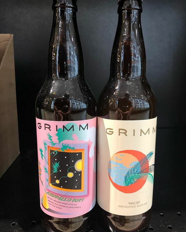 @grimmales Vacay and Amarillo Pop! are now available at our Perkins Rd location! #beer #summertimeblues…