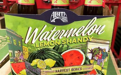 @abitabeer Watermelon Lemon Shandy is now available at our Perkins Rd location! Beat the heat…