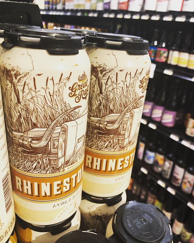 @greatraftbeer Rhinestone Life IPA is now available at our Perkins Rd location! #beer #drinklocal #freshhops…